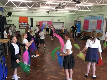 Year Six Workshop at Nine Mile Ride School in Wokingham